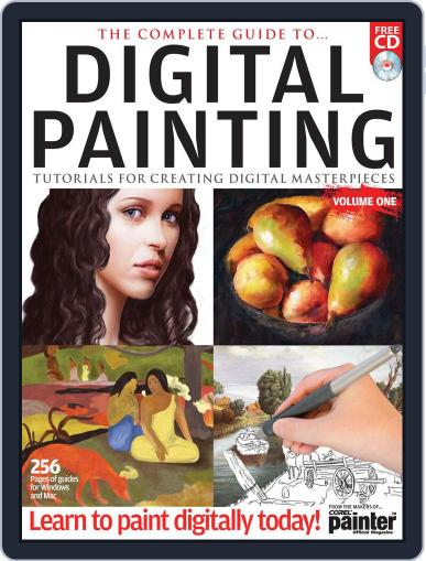 The Complete Guide to Digital Painting Vol. 1 Magazine April 13th, 2012 Issue Cover