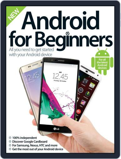 Android for Beginners Revised Edition October 7th, 2015 Digital Back Issue Cover