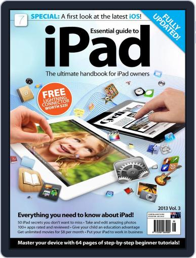 Essential iPad September 12th, 2013 Digital Back Issue Cover