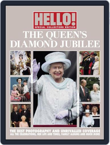 HELLO! Diamond Jubilee Souvenir Edition Magazine (Digital) August 8th, 2012 Issue Cover