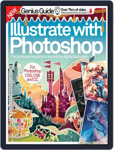 Illustrate with Photoshop Genius Guide December 1st, 2016 Digital Back Issue Cover