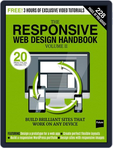 The Responsive Web Design Handbook Magazine (Digital) February 16th, 2016 Issue Cover