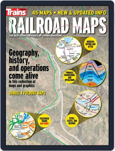 Railroad Maps July 19th, 2013 Digital Back Issue Cover