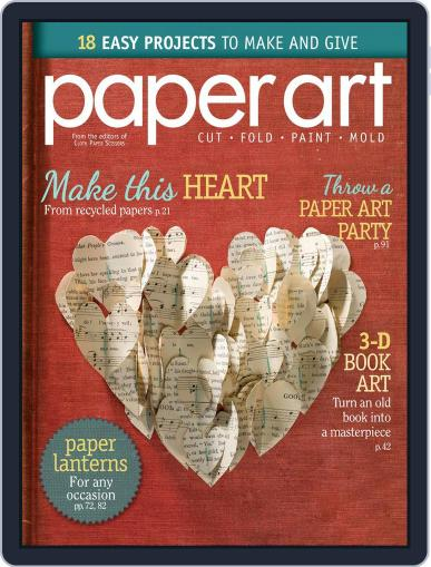 Paper Art July 18th, 2014 Digital Back Issue Cover