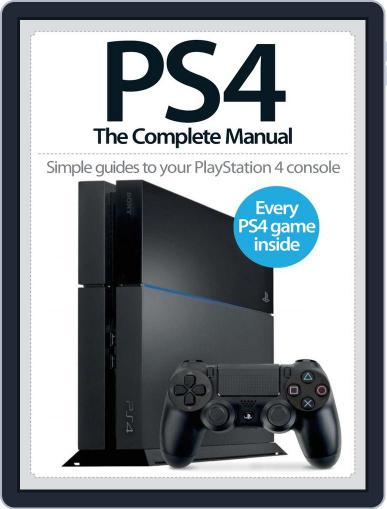 PS4: The Complete Manual January 17th, 2014 Digital Back Issue Cover