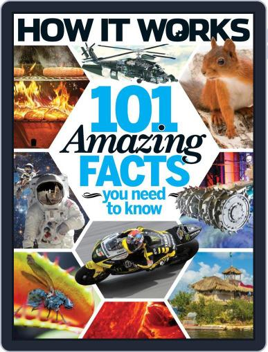 How It Works Book of 101 Amazing Facts You Need To Know July 1st, 2016 Digital Back Issue Cover