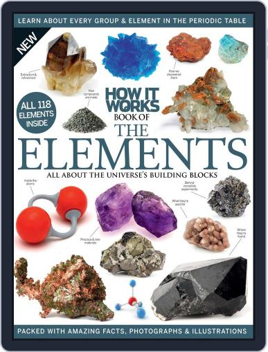 How It Works Book of the Elements October 1st, 2016 Digital Back Issue Cover