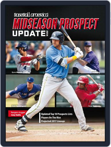 Baseball America: Mid-Season Prospect Guide July 16th, 2014 Digital Back Issue Cover