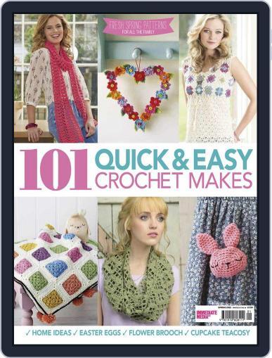 101 Quick & Easy Crochet Makes June 1st, 2016 Digital Back Issue Cover