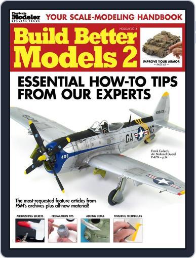 Build Better Models 2 November 7th, 2014 Digital Back Issue Cover