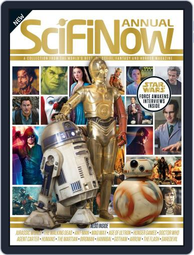 SciFiNow Annual Volume 1 November 11th, 2015 Digital Back Issue Cover