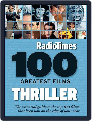 100 Greatest Thriller Movies by Radio Times January 22nd, 2015 Digital Back Issue Cover