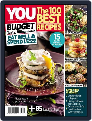 YOU The 100 Best Recipes: Budget Magazine (Digital) April 14th, 2015 Issue Cover