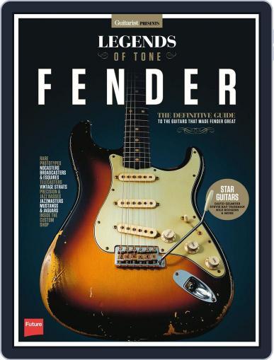 Legends of Tone - Fender October 5th, 2015 Digital Back Issue Cover