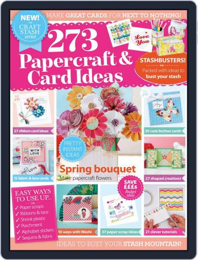 273 Papercraft & Card Ideas June 1st, 2016 Digital Back Issue Cover