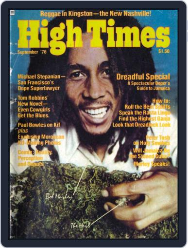 High Times-Bob Marley Edition Magazine (Digital) September 17th, 2009 Issue Cover