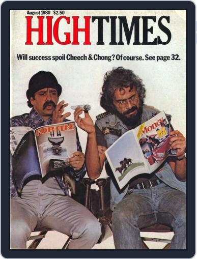 High Times- Cheech and Chong Edition Magazine (Digital) September 17th, 2009 Issue Cover