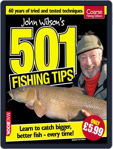 John Wilson's 501 Fishing Tips v.2 July 15th, 2010 Digital Back Issue Cover