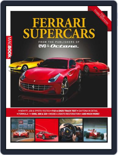 Ferrari Supercars The Third Edition Magazine (Digital) December 7th, 2011 Issue Cover