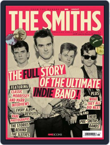 NME Icons: The Smiths November 30th, 2011 Digital Back Issue Cover