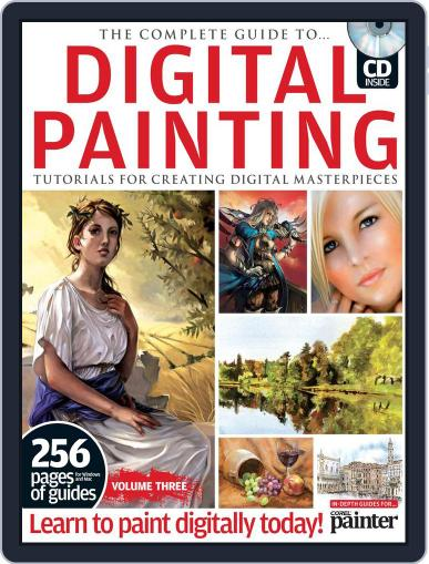 The Complete Guide to Digital Painting Vol. 3 Magazine April 9th, 2012 Issue Cover