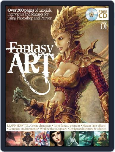 Fantasy Art Vol. 1 Magazine (Digital) April 19th, 2012 Issue Cover