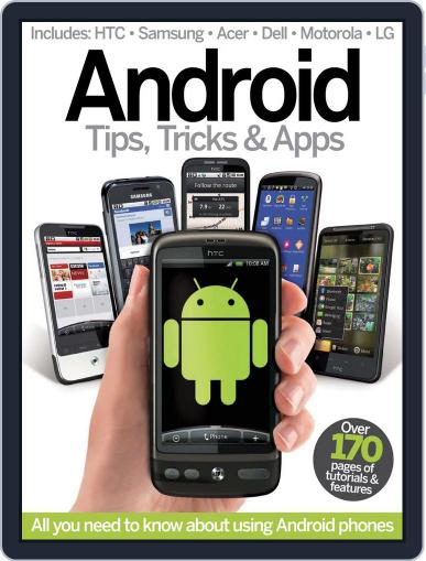 Android Tips, Tricks & Apps Vol 1 Magazine (Digital) May 21st, 2012 Issue Cover