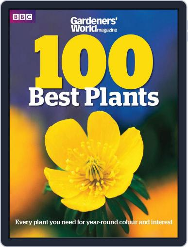 Gardeners' World Magazine 100 BEST PLANTS May 23rd, 2012 Digital Back Issue Cover