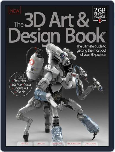 The 3D Art & Design Book United Kingdom Magazine (Digital) April 1st, 2015 Issue Cover