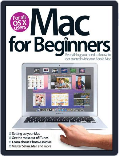 Mac For Beginners 2nd Revised Edition September 20th, 2012 Digital Back Issue Cover