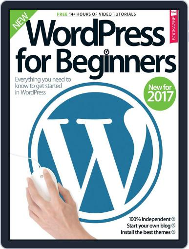 Wordpress For Beginners January 19th, 2017 Digital Back Issue Cover