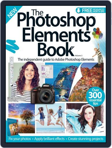 The Photoshop Elements Book Magazine (Digital) September 23rd, 2015 Issue Cover