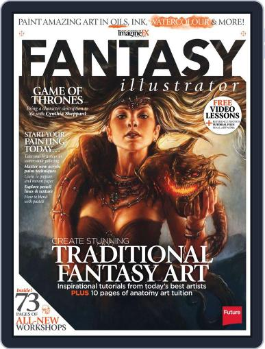 ImagineFX Presents Fantasy Illustrator Magazine (Digital) June 28th, 2013 Issue Cover