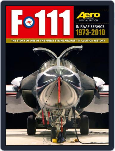 F-111 September 17th, 2013 Digital Back Issue Cover