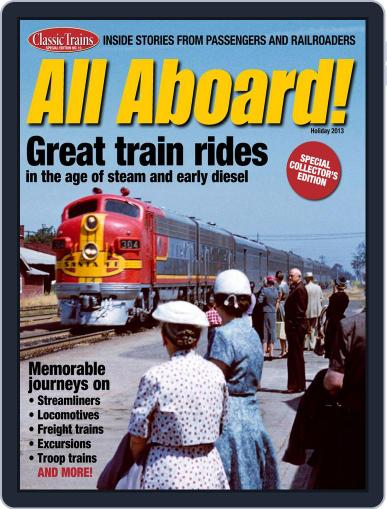 All Aboard! November 15th, 2013 Digital Back Issue Cover