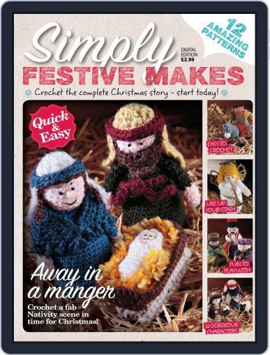 Crochet Nativity October 29th, 2013 Digital Back Issue Cover