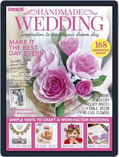 Handmade Weddings April 1st, 2016 Digital Back Issue Cover