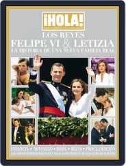 ¡Hola! Los Reyes Felipe VI y Letizia Magazine (Digital) Subscription July 30th, 2014 Issue
