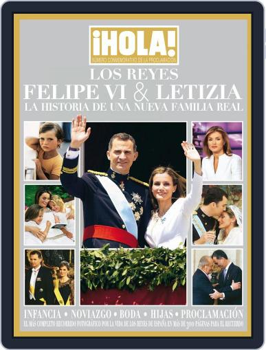 ¡Hola! Los Reyes Felipe VI y Letizia Magazine (Digital) July 30th, 2014 Issue Cover