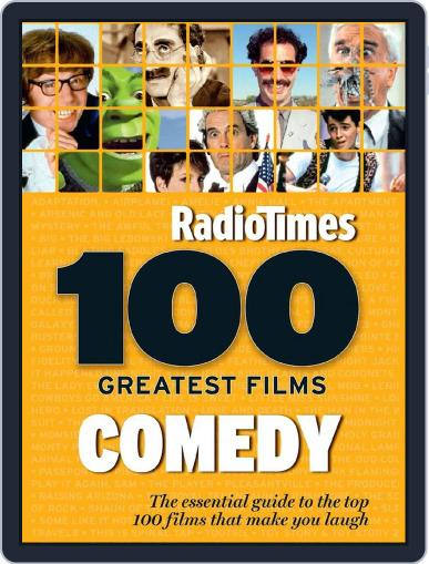 100 Greatest Comedy Movies by Radio Times January 22nd, 2015 Digital Back Issue Cover