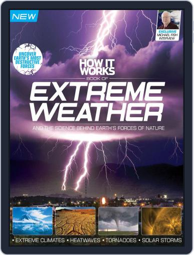 How It Works Book of Extreme Weather Magazine (Digital) February 1st, 2016 Issue Cover
