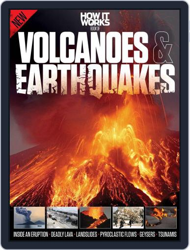 How It Works Book of Volcanoes and Earthquakes Magazine (Digital) March 9th, 2015 Issue Cover