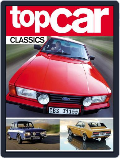 TopCar's Classic Performance Cars Magazine (Digital) May 6th, 2015 Issue Cover