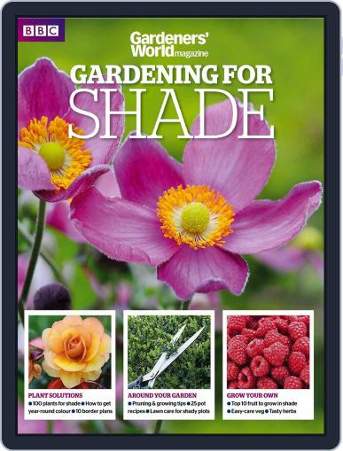 Gardeners' World Magazine - GARDENING FOR SHADE May 23rd, 2015 Digital Back Issue Cover