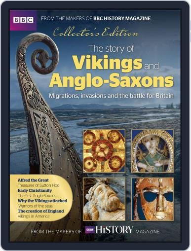 The Story Of Vikings and Anglo-Saxons March 1st, 2016 Digital Back Issue Cover