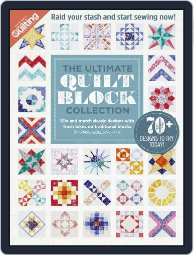 The Ultimate Quilt Block Collection Magazine (Digital) July 31st, 2016 Issue Cover