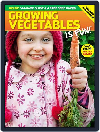 Growing Vegetables is Fun November 20th, 2009 Digital Back Issue Cover