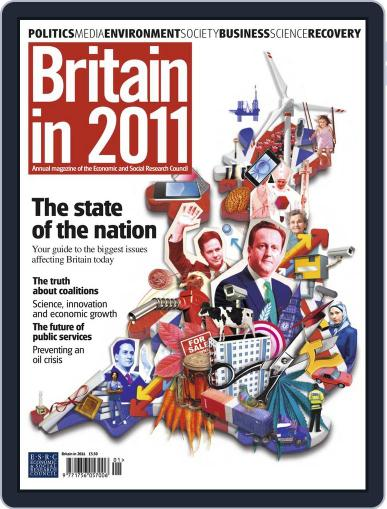 Britain in 2011 December 15th, 2010 Digital Back Issue Cover