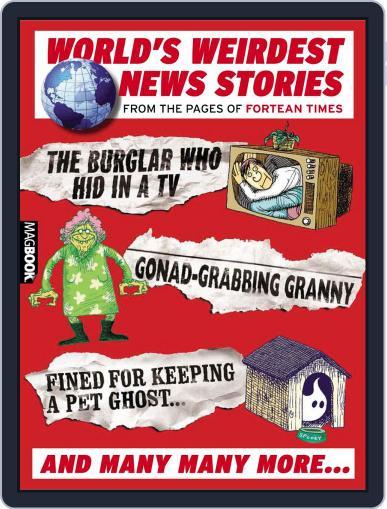 The World's Weirdest News Stories Magazine (Digital) March 1st, 2011 Issue Cover