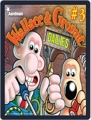 Wallace & Gromit Dailies August 24th, 2011 Digital Back Issue Cover